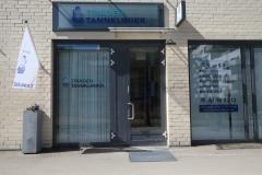 Utsiden av klinikken